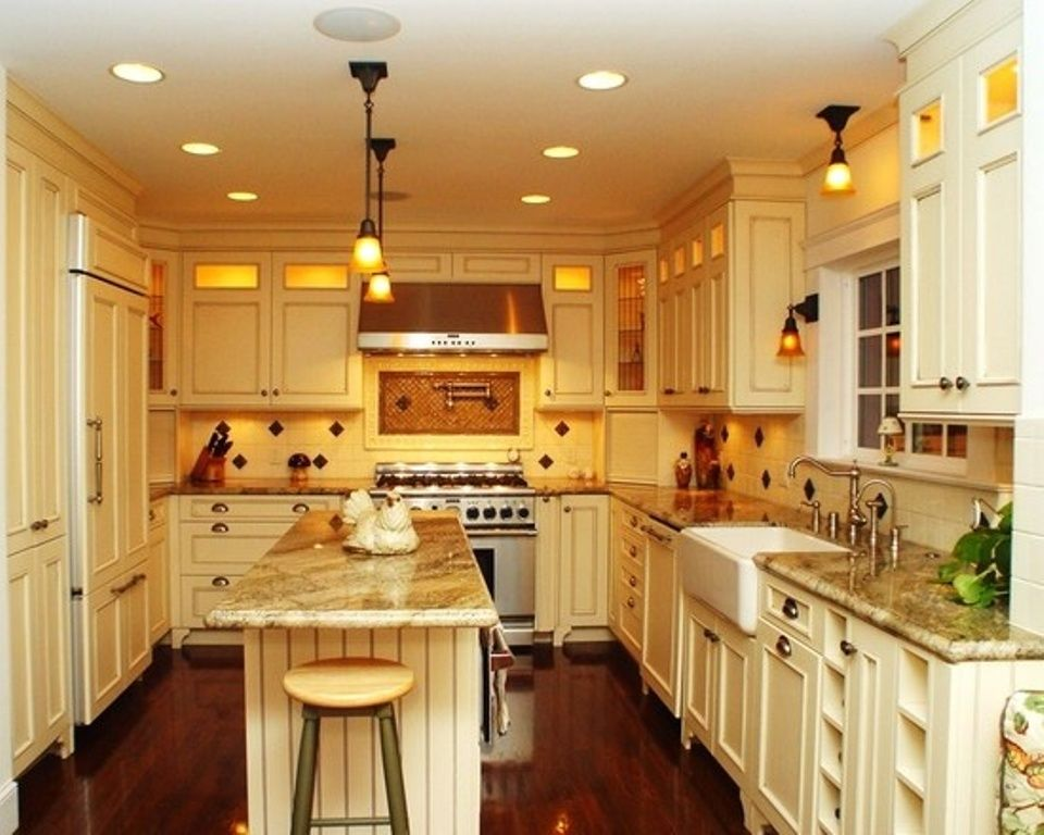 Long Skinny Kitchen Design