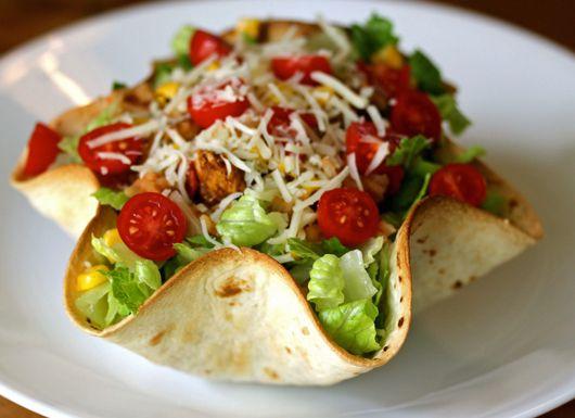 Taco Salad Bowls recipe from uRecipes.com! ~~ YUM