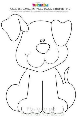 Pin De Nora Romano En Bos Kaliplar En 2020 Edredones Para Perros Moldes De Perros Dibujos De Animales