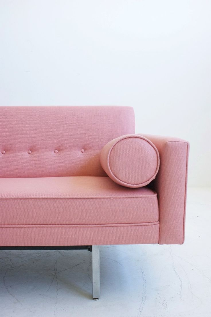 Pink couch!