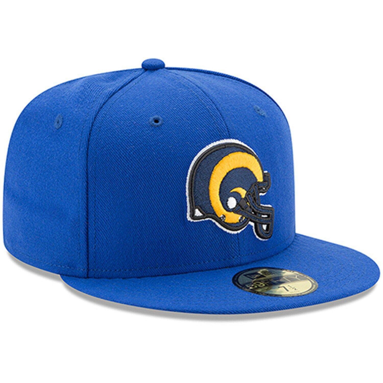 Men's New Era Royal Los Angeles Rams Classic Logo Omaha