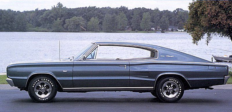 1966 dodge charger picture exterior - Challenger 1966