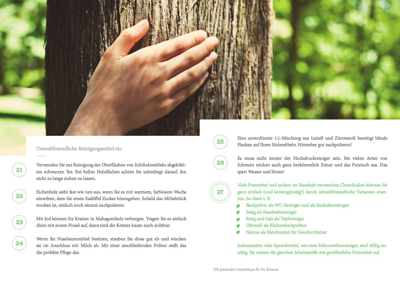 123 tipps zum effektiven umweltschutz im haushalt | umwelt