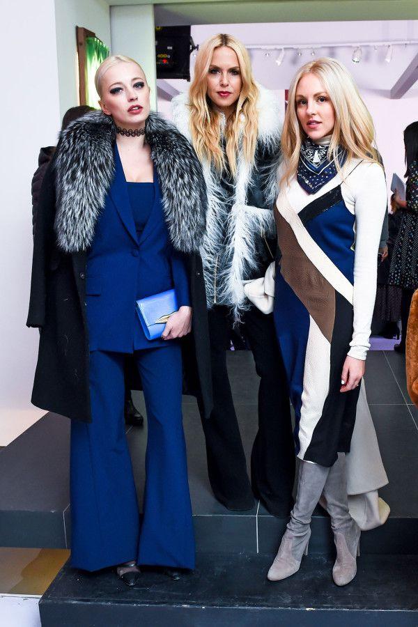 Caroline Vreeland, Rachel Zoe & Shea Marie - At Diane Von Furstenberg.