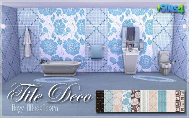 Sims 4 CC's - The Best: Walls & Floors by Ihelensims