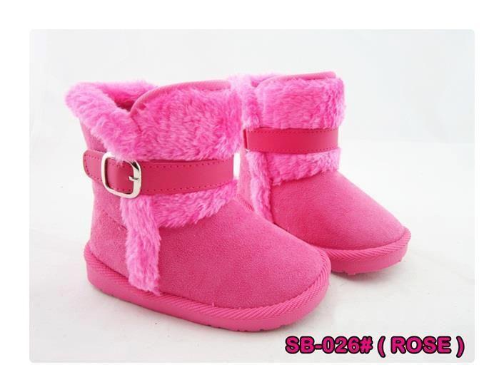 Sepatu Boots Pink Sb 26 5 In Stock Sepatu Boots Untuk Anak