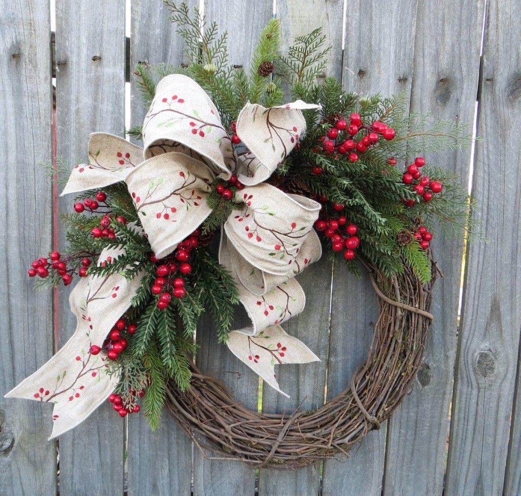 Photo of 17 Whimsical Handmade Christmas Wreath Designs For Inspiration