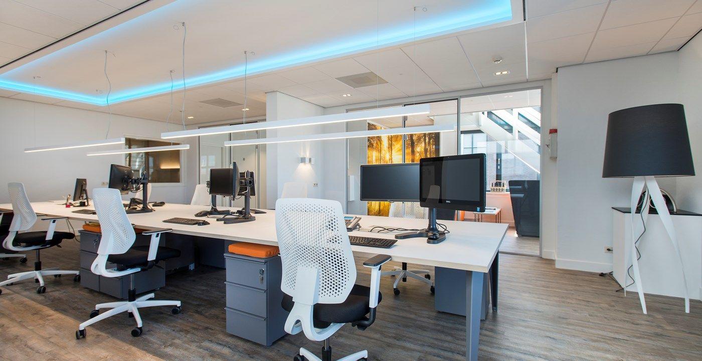 Kantoorinrichting zo interieurprojecten kantoor