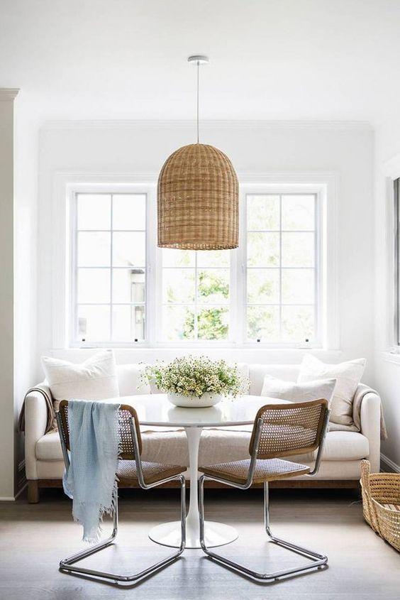 un-sofa-para-el-comedor-07 | Orquídea cocina | Pinterest | El ...