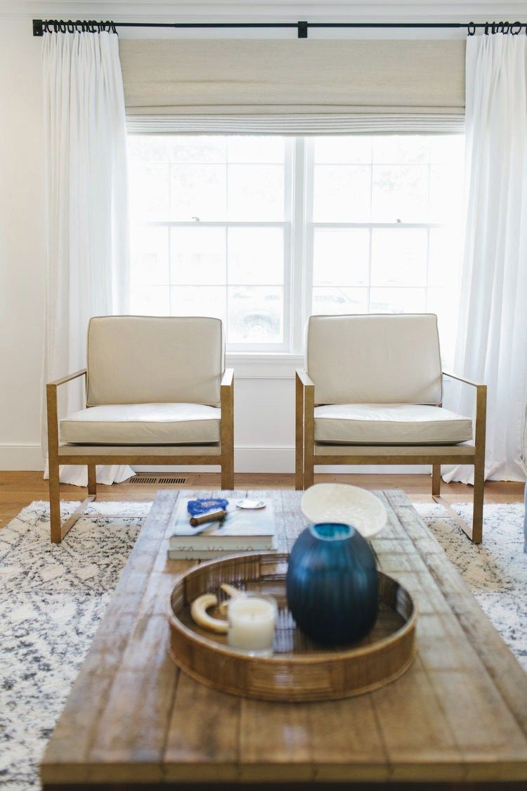 A Cape Cod Inspired Home Tour | Small living room design ...