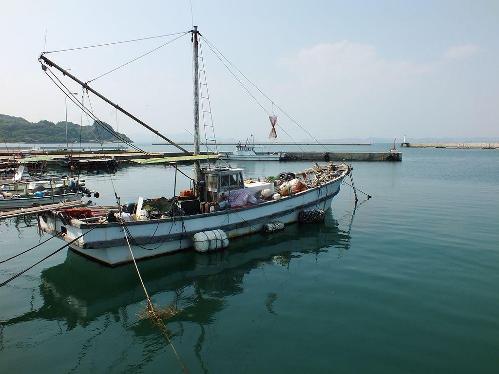 bateau de peche japonais