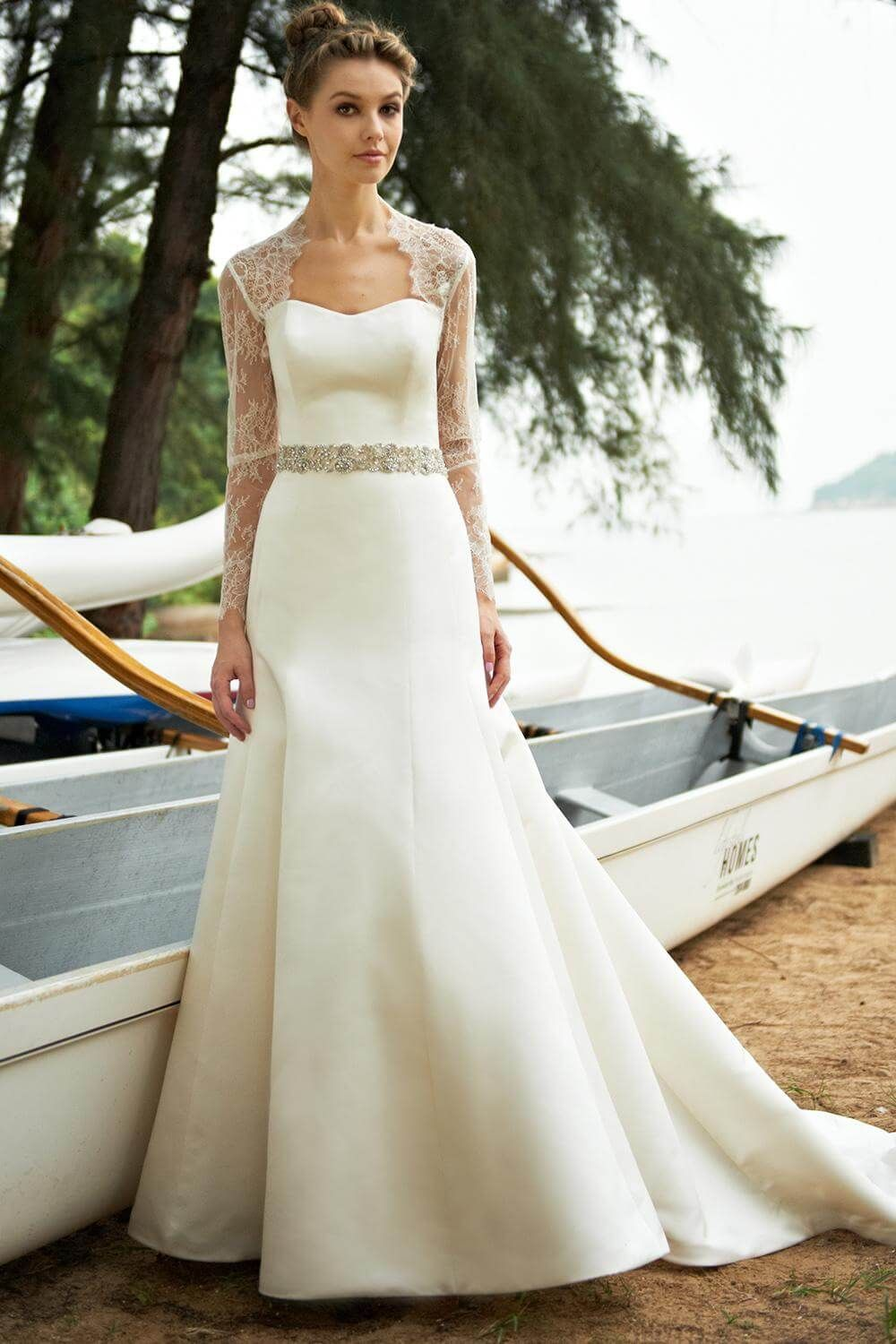 The Best Wedding Dresses For Fat Arms