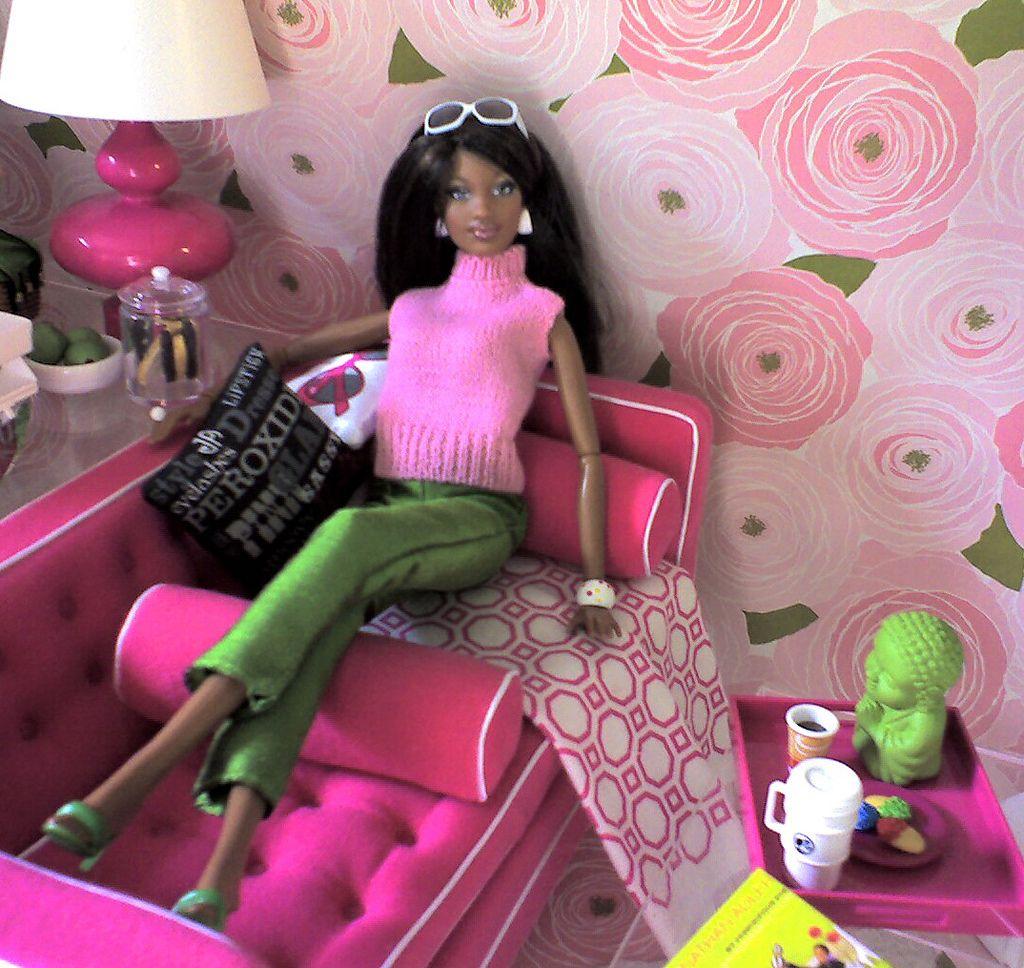 Grace Barbie Diorama Barbie Girl Fashion Dolls