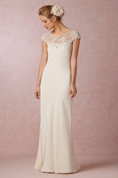 Bhldn S Ranna Gill Avalon Gown In Snow My Style Pinterest