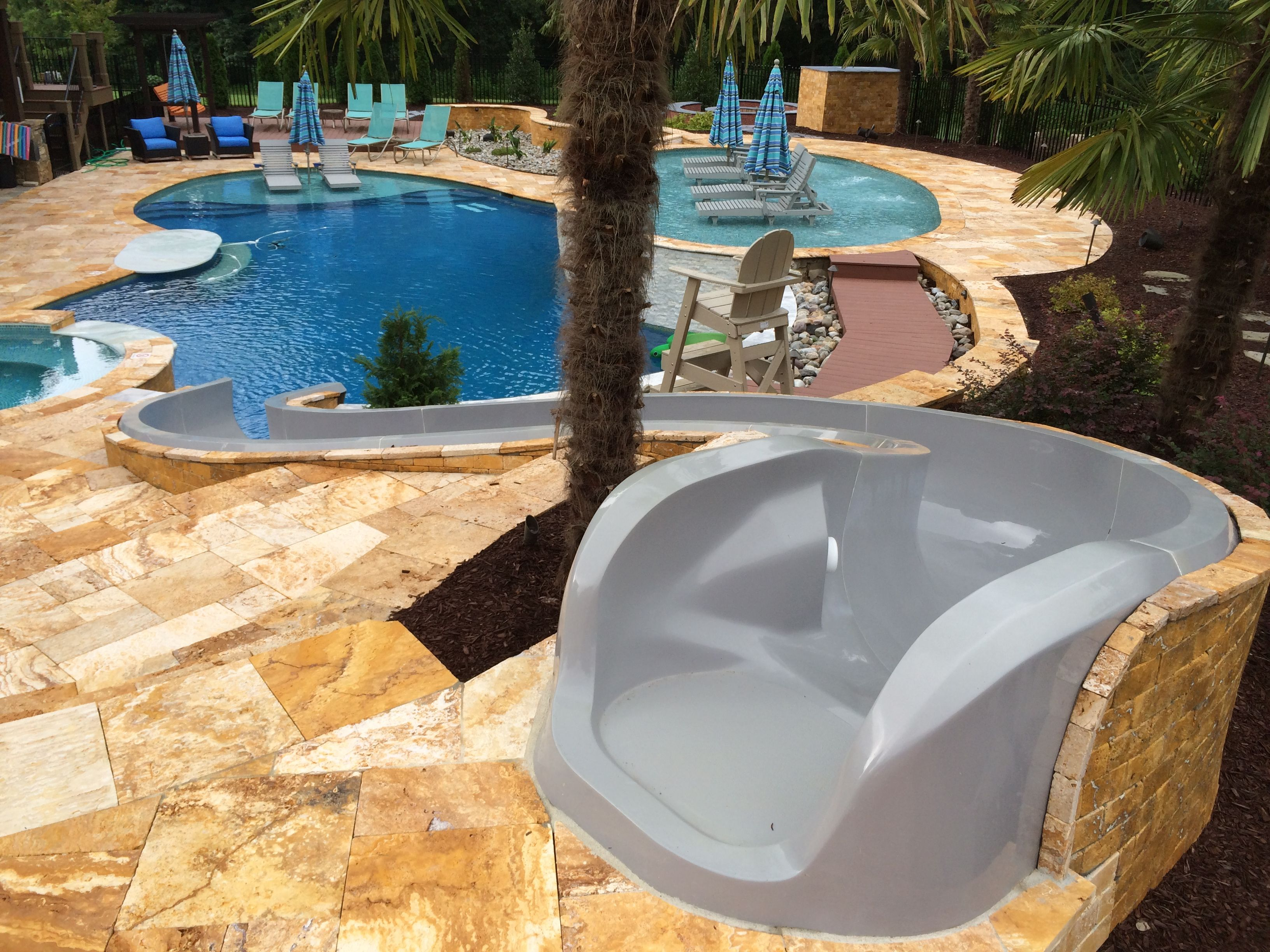 Superbe Residential Pool Water Slides