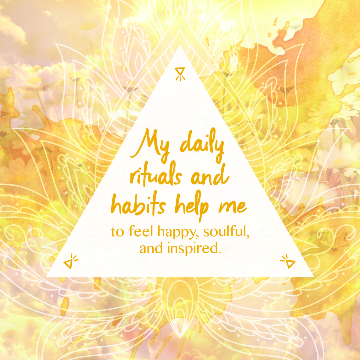 Daily Affirmations Soulful Stunning Affirmation Cards By