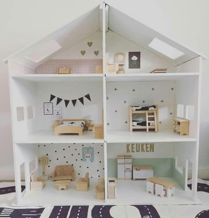 Pin Van Beth Allison Op Girls Bedroom Poppenhuis Plannen Houten Poppenhuis Modern Poppenhuis