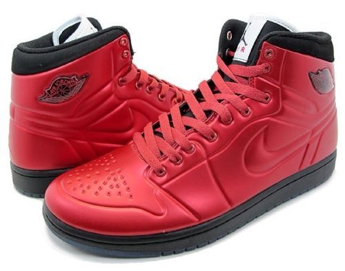 reputable site 880a4 3fb46 Nike Air Jordan 1 Anodized Red Sz 13