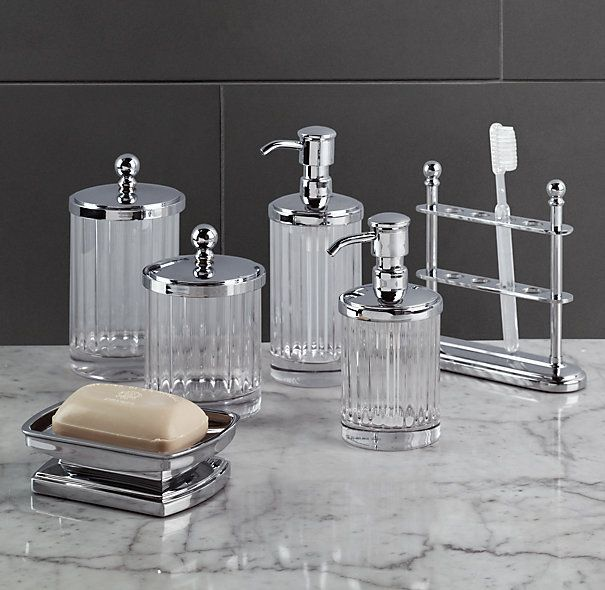chatham accessories tissue holders soap dishes toothbrush holders restoration hardware bathroom