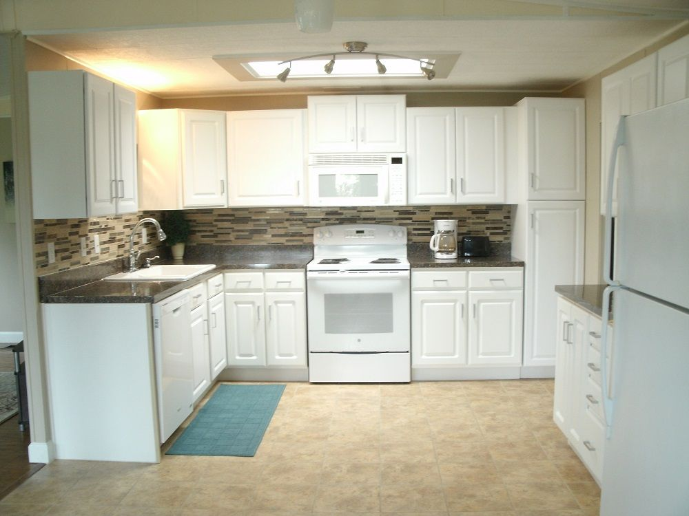 New kitchen cabinets 1989 Homes of Merit Mobile ...