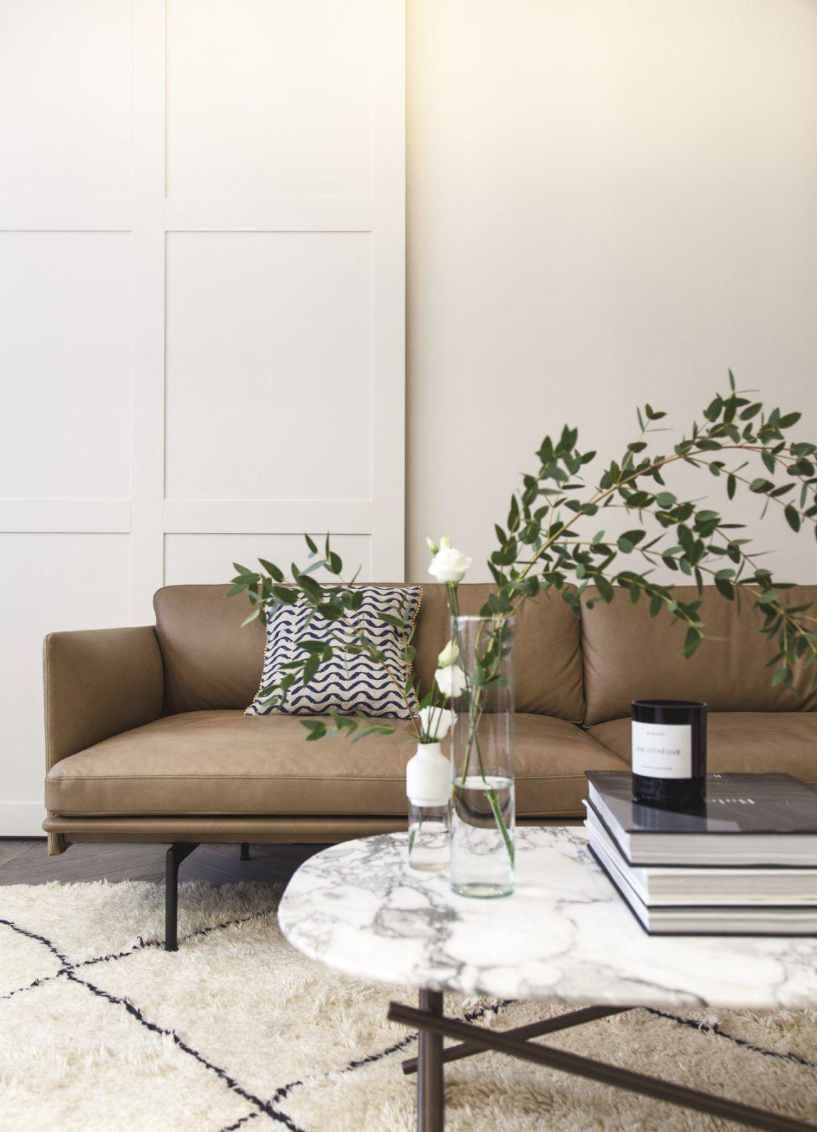 Luxe appartement van m in warme neutrale kleuren in ffe