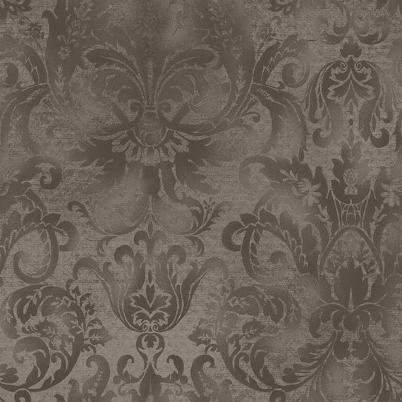 Best Softened Damask Taupe By Maywood Studio Mas103 Ka 100 400 x 300