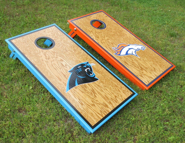 Carolina Panthers Denver Broncos Cornhole Boards Facebook Com