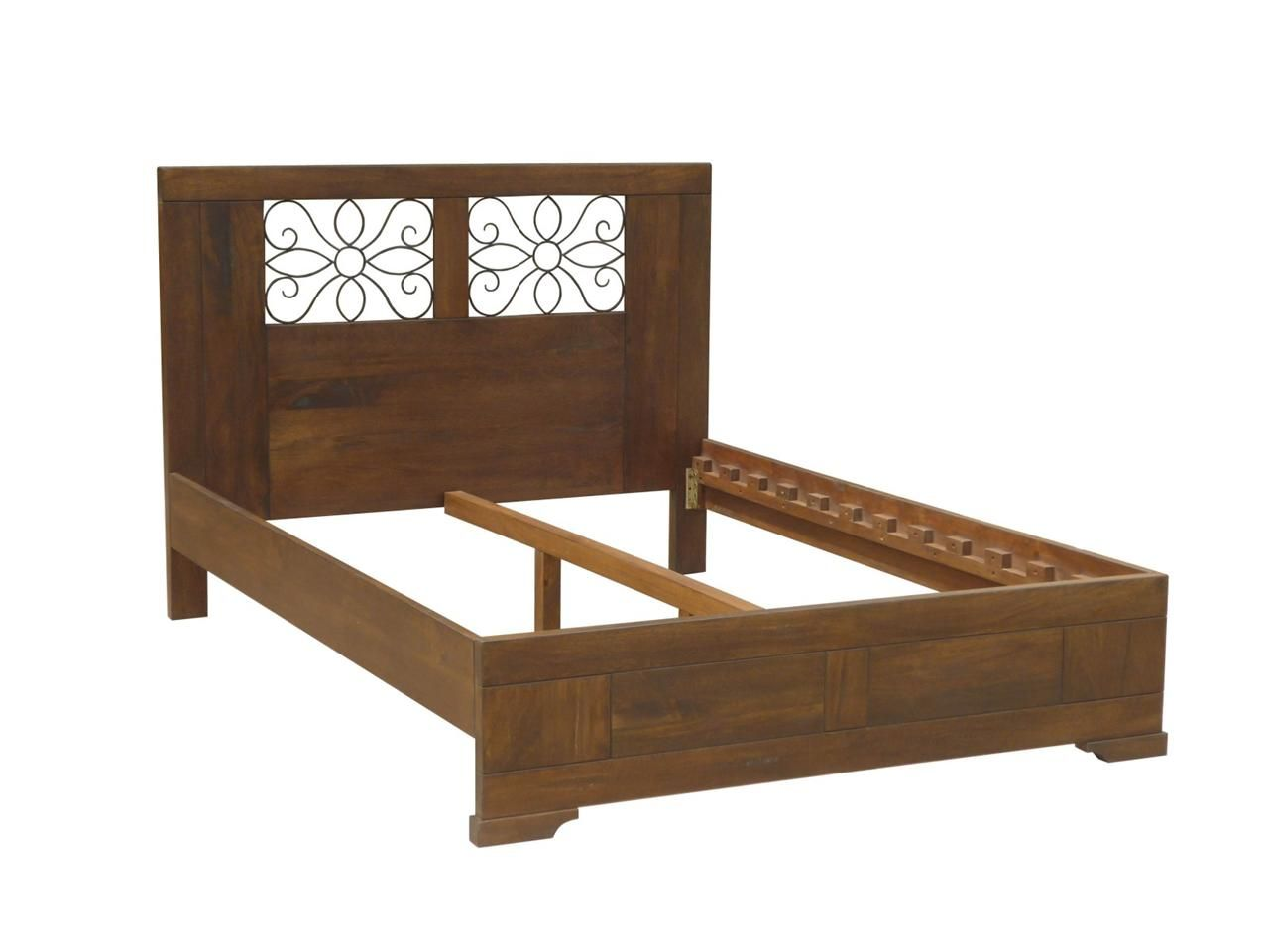 solid hardwood timber tuscany grande country european style double bed frame ebay - Country Bed Frames