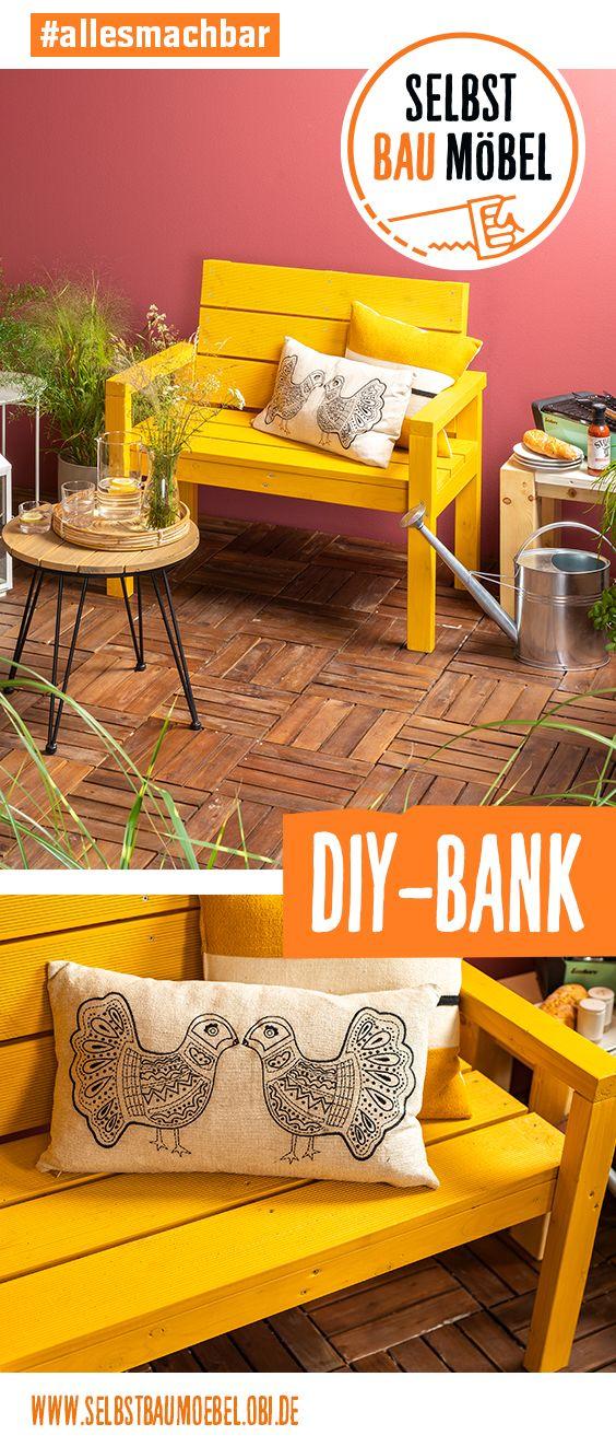 Gartenbank individuell gebaut! #deckpatio