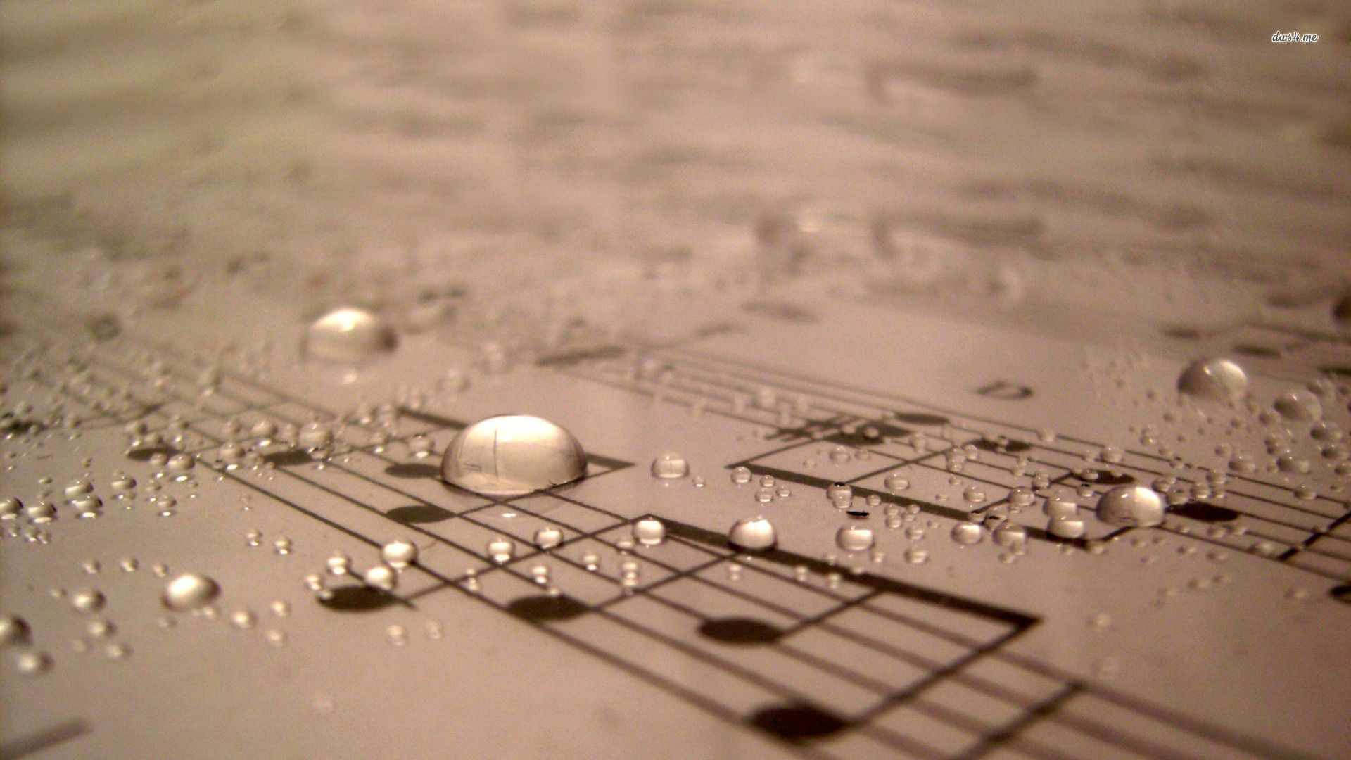 Hd Music Wallpapers For Laptop: Sheet Music Desktop Background - PinIt Gallery