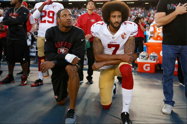 By Now Most Of You Know San Francisco 49er Quarterback Colin Kaepernick Has Started An Ongoing Protest Of Either S Colin Kaepernick Kaepernick National Anthem