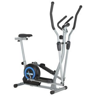 Buy New Pro Fitness 2 In 1 Cross Trainer And Exercise Bike At