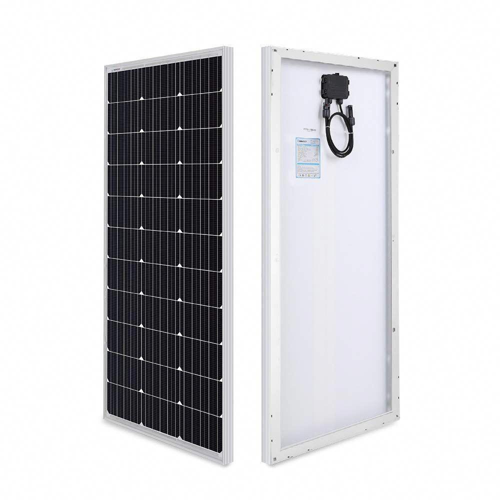 Renogy 100 Watt 12 Volt Monocrystalline Solar Panel Compact Design Price 57 49 Solarpanels Solarenergy Solar Solar Panels Solar Panel Cost Best Solar Panels