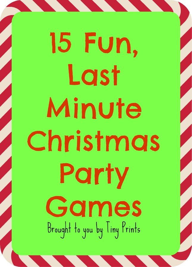 15 easy and fun games to play at your christmas party free printables and game plans included. Black Bedroom Furniture Sets. Home Design Ideas