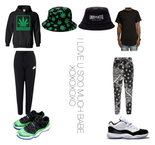"""""""Dedicated to the bae"""" by cutiepie1738 ❤ liked on Polyvore featuring NIKE, TIBI and Concord"""