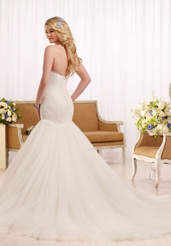 Essense of Australia D2130 Mermaid Wedding Dress | Wedding Day Glam ...