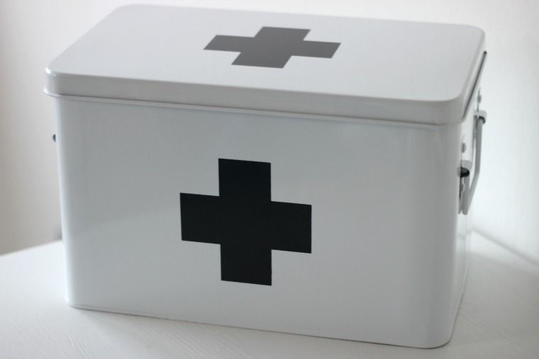 First Aid Kit From Hema Dutch Shop Ehbo Doos Ook In Roze