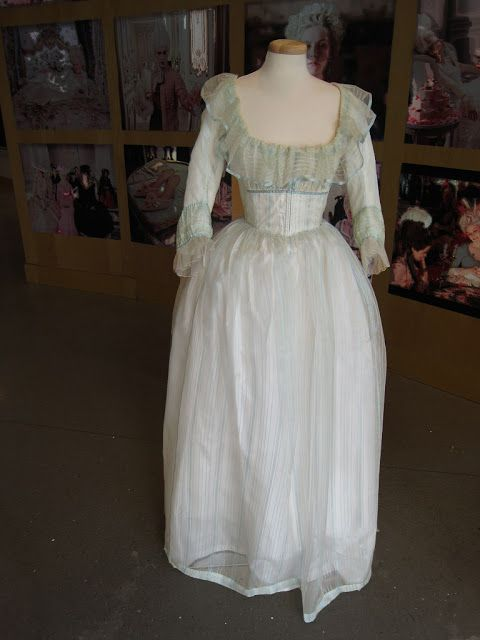 The chemise a la reine was a simply styled dress famously introduced ...