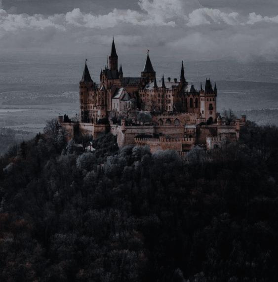 Dark Academia Castle