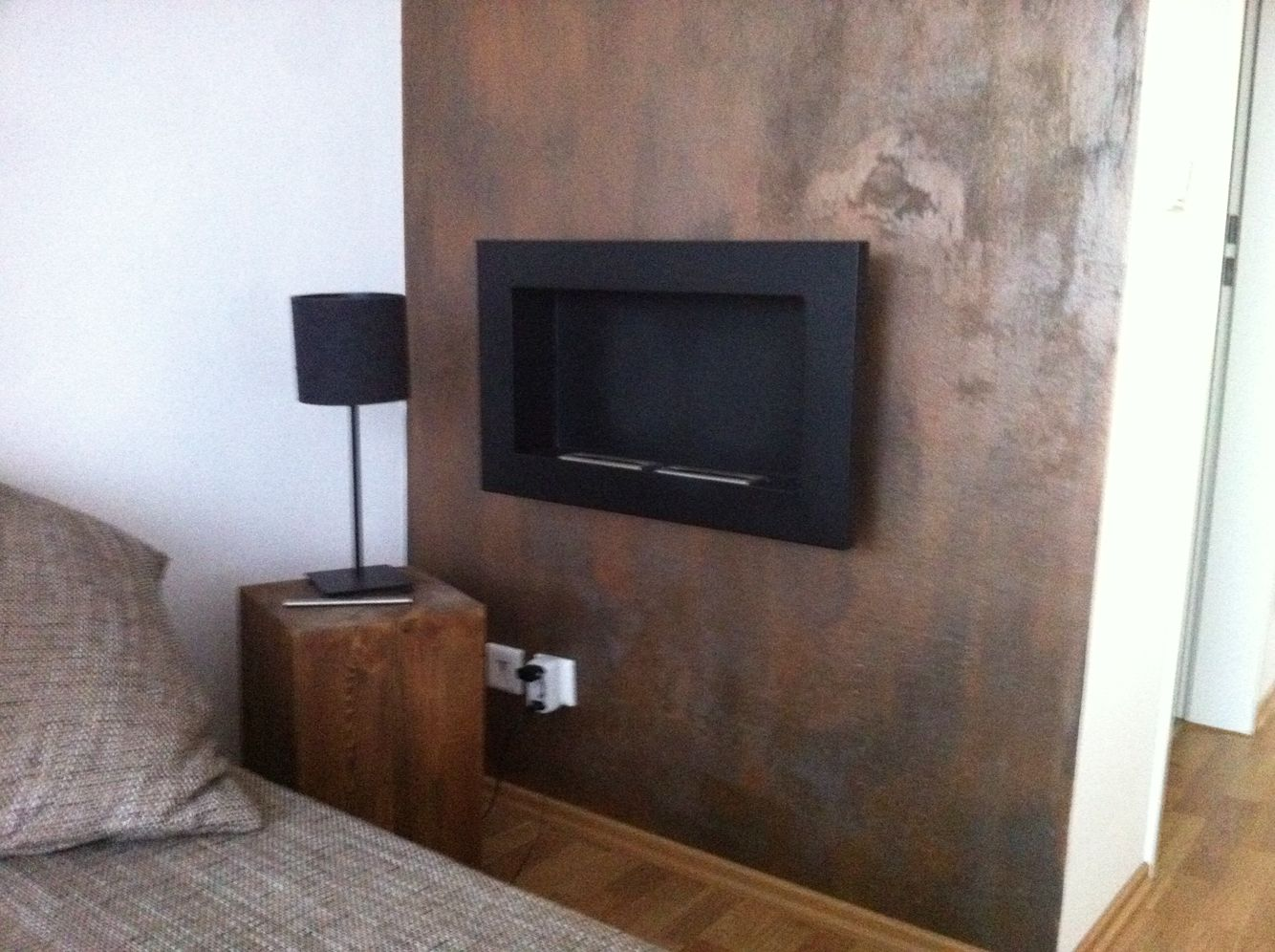 rost wand wall diy wandfarbe pinterest wandfarbe. Black Bedroom Furniture Sets. Home Design Ideas