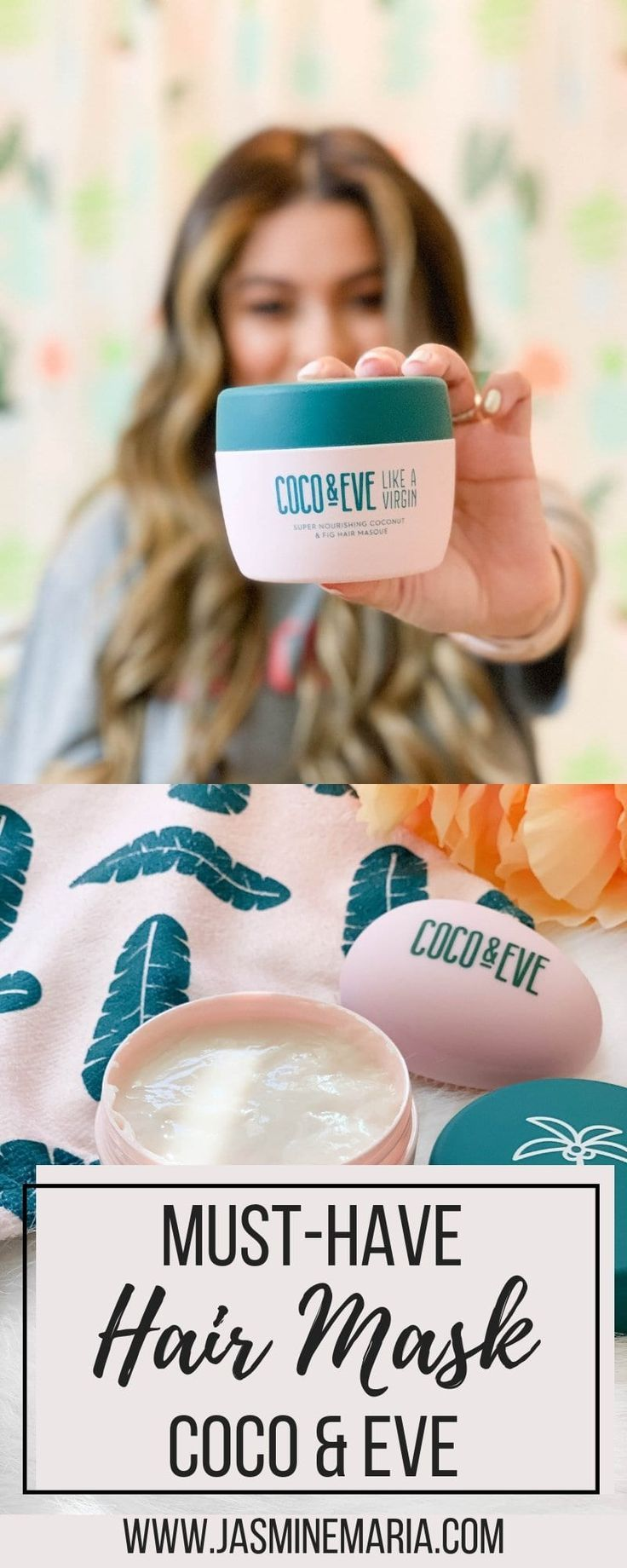 Coco & Eve a Must-Have Hair Mask #ad #cocoandeve #hairmasks #haircare #haircaretips #hairextensionscare #hairroutine #haircareroutine