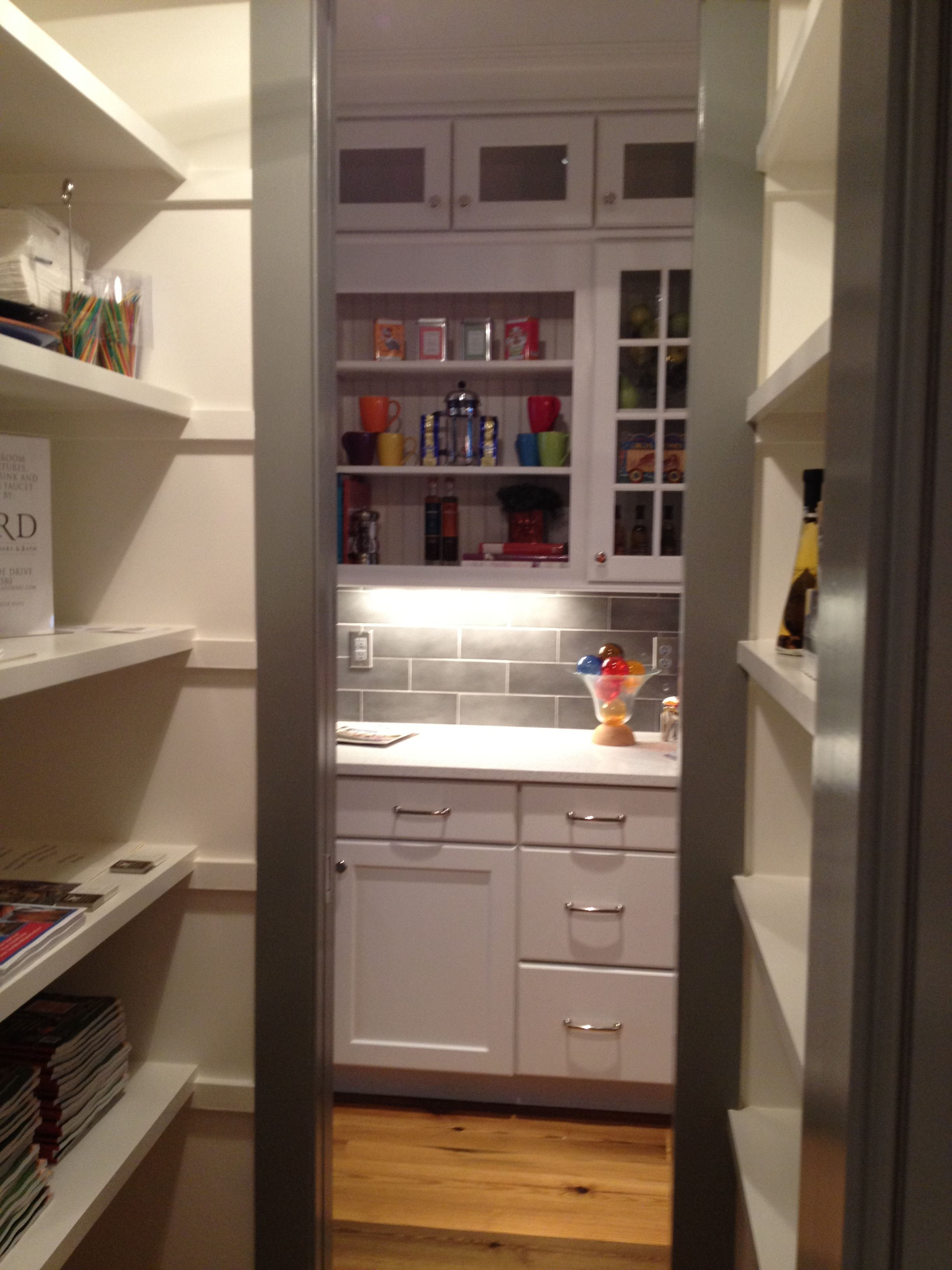Walk Through Pantry Anchors Island In Kitchen Dixon Kirby Raleigh Nc Cook Pinterest