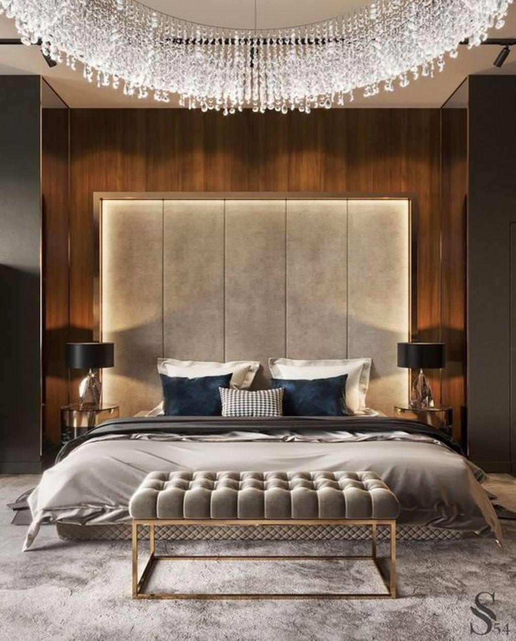 38 Stunning Modern Bedroom Design Ideas | Modern luxury ...