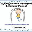 This packet includes 5 Literacy Centers:*Synonym Sort*Antonym Sort*Synonym Four in a Row(5 different game boards)*Antonym Four in a Row (5 dif...