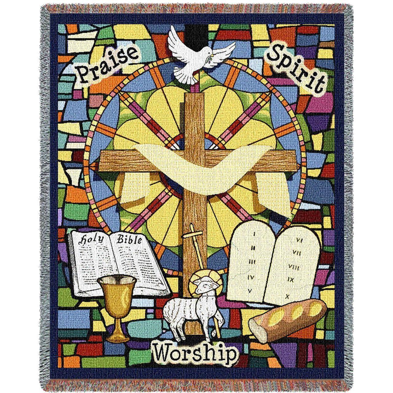 Wall Hanging Lesson Plan: Worship Art Tapestry Throw