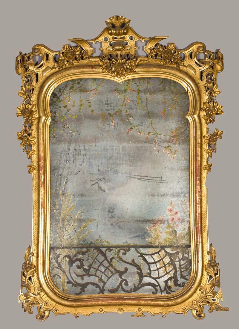 Fotocaption5363 marcos espejos marcos dorados y espejos antiguos - Marcos espejos antiguos ...