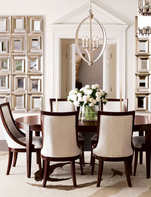 Dining Chairs That Are Actually Comfortable And A Round Oval Table Where No One Gets S Elegant Dining Room Dining Room Layout Small Dining Room Table