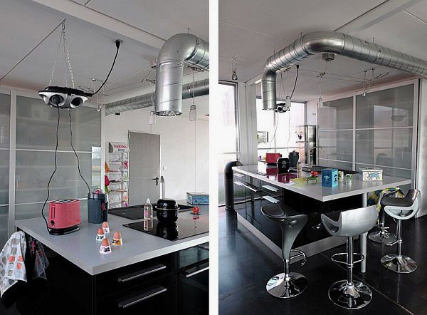 Industrial Kitchen For Shipping Containers House Love