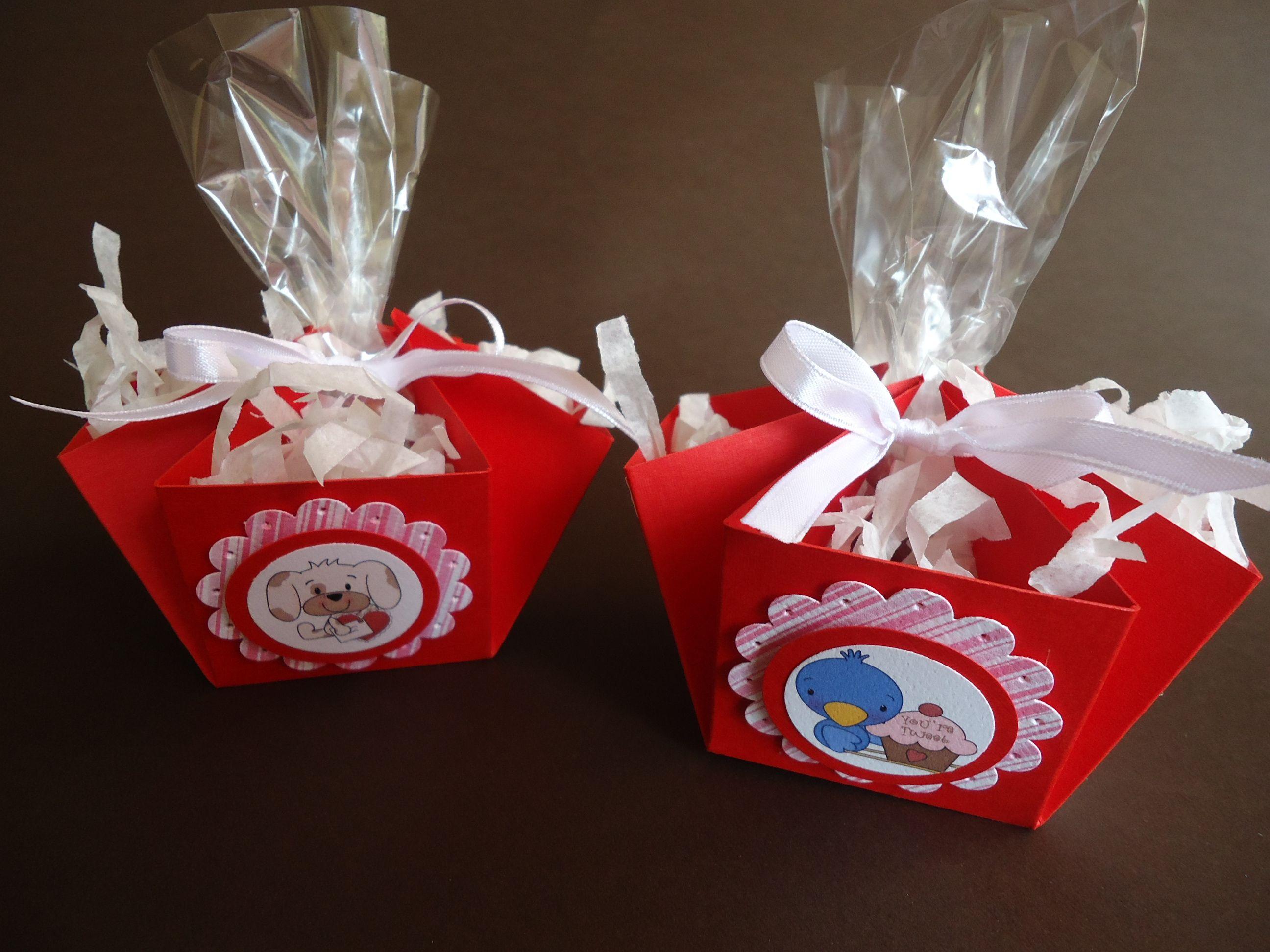 Canastitas con dulces para el d a de san valentin o pascua - Dulces de san valentin ...