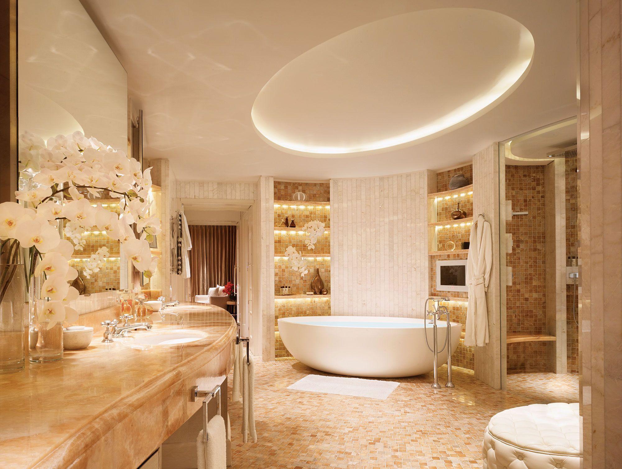 Corinthia Hotel London Penthouse Suite Luxus Badezimmer Luxusbadezimmer Badezimmer Design
